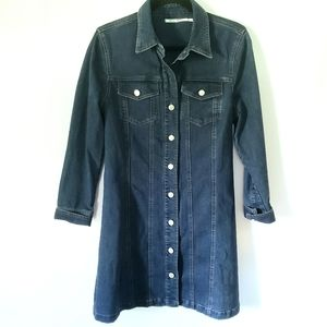 Kimchi Blue Long Denim Jean Jacket Size Large